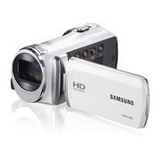 三星 HMX-F90 家用高清闪存数码摄像机 白色