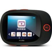月光宝盒 爱国者(aigo)运动款MP3 F100播放器录音笔FM收音 跑步臂带超薄 可连耳机音箱 4G黑色