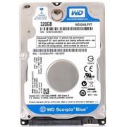 西部数据 蓝盘 320G SATA3Gb/s 5400转8M 7MM笔记本硬盘(3200LPVT)
