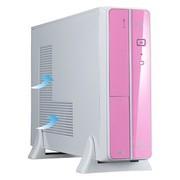 星宇泉 小麻雀8108WV HTPC专用机箱(标配XYQ-385 Micro-ATX电源)粉色