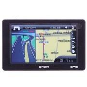 昂达 VP73 3D版 5.0英寸 超薄11mm双画面3D实景 GPS卫星导航仪 黑色