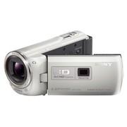 索尼 HDR-PJ390E 投影高清数码摄像机 白色(239万像素 3英寸屏 30倍光学变焦 32G内存)