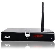 杰科 GK-HD330 真3D智能高清播放器 电视直播机顶盒产品图片主图