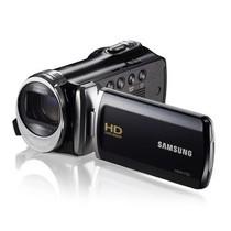 三星 HMX-F90 家用高清闪存数码摄像机 黑色产品图片主图