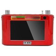AKAI AK32 4.3寸触摸彩屏插卡音箱 720P 自带遥控器 唱戏看戏 60W喇叭 送老人首选礼品