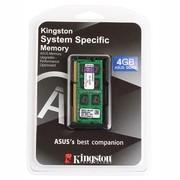 金士顿 系统指定 DDR3 1600 4GB 华硕(ASUS)笔记本专用内存