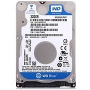 西部数据 蓝盘 320G 5400转8M SATA6Gb/s 7mm笔记本硬盘(3200LPVX)