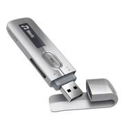 飞利浦 SA5MXX04SFC MP3播放器 直插式录音笔U盘 银色