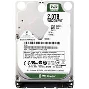 西部数据 绿盘 2TB SATA3 8M 笔记本硬盘(20NPVX)