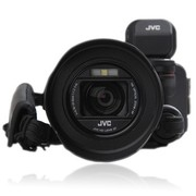 JVC GC-PX100BAC 高清闪存摄像机 黑色(1280万像素 10倍光变 3.0英寸屏 32GB内存 F1.2大光圈 WiFi功能)