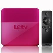 乐视 TV(Letv) C1S 高清播放机(含1年网高级VIP视听体验) 盒子 彩壳桃 无线路由 支持Dobly及DTS