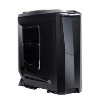 银欣 RV01B-W乌鸦开窗版机箱(黑色)产品图片主图