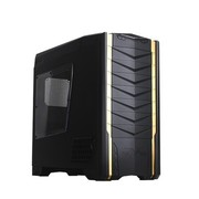 银欣 SST-RV03B-W 乌鸦系列机箱(消光黑)