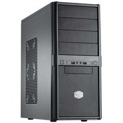 酷冷至尊 特警365 游戏机箱(ATX/支持SSD/SECC/防尘/冲孔网面板)黑色