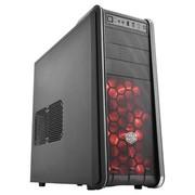 酷冷至尊 海尊神 中塔机箱 (USB3.0/支持240水冷/前置双LED风扇/自带负离子发生器) 黑色