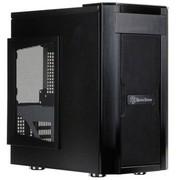 银欣 SST-SG03B-F珍宝系列 小机箱(正压差设计/散热/防尘/静音)(黑色)