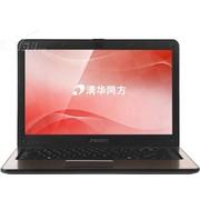 清华同方 S40F-i3214510 14英寸超极本(i3-3217U/4G/500G+24G SSD/Win7/棕)