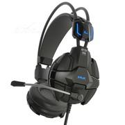 宜博 EHS902 眼镜蛇特别版游戏耳机(黑色)