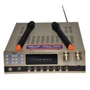 先科 AV-108K功放 双卡拉OK  USB输入 内置无线话筒接收