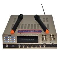 先科 AV-108K功放 双卡拉OK  USB输入 内置无线话筒接收产品图片主图