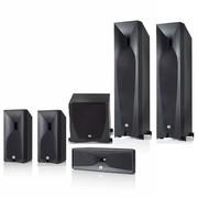 JBL STUDIO 5系列5.1豪华家庭影院套装(主音箱580BK) 黑色