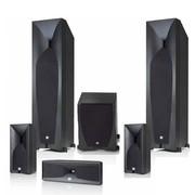 JBL STUDIO 5系列5.1豪华家庭影院套装(主音箱590BK) 黑色
