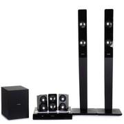 飞利浦 HTD3540/93 微型扬声器震撼环绕音 DVD 家庭影院 (黑色)