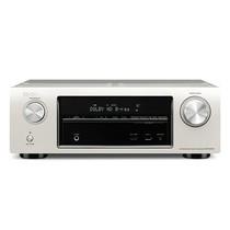 天龙 AVR-X1010 家庭影院 5.1声道(5*120W)AV功放机 支持3D/网络高清音视频 银色产品图片主图