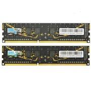 金邦 黑龙游戏系列 DDR3 1600 8G(4G×2条) CL11 台式机内存 8层线路设计,游戏专用