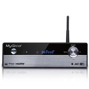 美如画 V9 WIFI/3D可内置硬盘高清播放器 网络电视机顶盒 1186 黑色