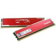 金士顿 骇客神条 红色限量版 DDR3 1600 8G(4Gx2条)台式机内存(KHX16C9B1RK2/8X)