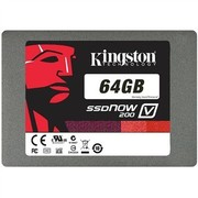 金士顿 V200系列 SATA3.0 64G SSD固态硬盘(SV200S37A/64G)