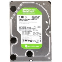 西部数据 绿盘 2TB SATA6Gb/s 64M 台式机硬盘(20EARX)产品图片主图