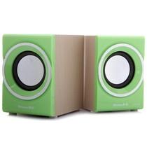 新科 SM-700 多媒体迷你音箱 (绿色)产品图片主图