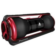 先锋 STZ-D11Z-R STEEZ系列便携音乐播放音箱(红色,主体黑色)