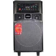 金正 【货到付款】E12(N6276)移动拉杆电瓶广场舞音箱 插卡音响