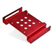 金胜 2.5英寸转5.25英寸光驱位硬盘支架 红色(KS-A525RD1S)