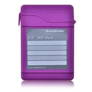 金胜 2.5英寸硬盘保护盒(时尚紫)(KS-AHD25PU)