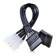 金胜 D4P转SATA15P2电源转接线(KS-C4P15PF2)