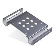金胜 2.5英寸转5.25英寸光驱位硬盘支架 银色(KS-A525SR1S)
