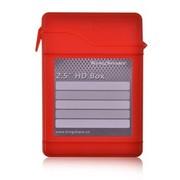 金胜 2.5英寸硬盘保护盒(时尚红)(KS-AHD25RD)