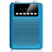 飞利浦 SBM150BLU/93 广场级音效 扩音插卡音响 FM收音机 REC录音 内置可充电电池 蓝色