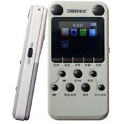 帝尔 DR16 彩屏MP3复读机 可转录播放磁带光盘 支持下载 专业录音功能 4G内存 浅灰色