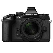 奥林巴斯 E-M1 微单套机 黑色(M.ZUIKO DIGITAL ED 12-50mm F3.5-6.3 EZ 镜头)