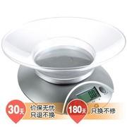 香山 EK3550-31P 带托盘 电子厨房秤 电子烘焙秤 银灰色