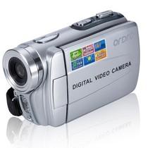 欧达 DDV-V6 家用数码摄像机 银色 16倍数码变焦产品图片主图