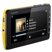 """飞利浦 SA4VD404YN/93 4.3寸视频播放器 4G 专利""""电影环绕立体声""""音效 黄色"""