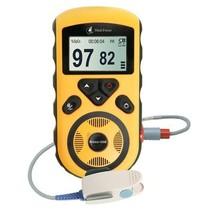 力康 Prince-100E 手掌式脉搏血氧饱和度仪 标配成人血氧探头  血氧仪产品图片主图