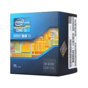 英特尔 酷睿双核i3-3220 盒装CPU(LGA1155/3.3GHz/3M三级缓存/55W/22纳米)
