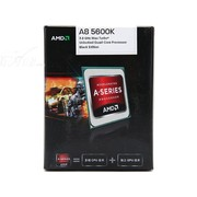 AMD APU系列四核 A8-5600K 盒装CPU(Socket FM2/3.6GHz/4M缓存/HD 7560D/100W)